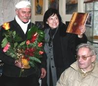 Foto z první výstavy a prezentace první knihy